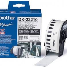 Brother Benzi termice Brother DK22210 pentru etichetatoare - Imprimanta termice