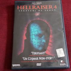 FILM DVD HELLRAISER 4, Romana