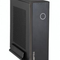 Carcasa Chieftec IX-03B-OP, mini ITX, neagra, fara sursa - Carcasa PC