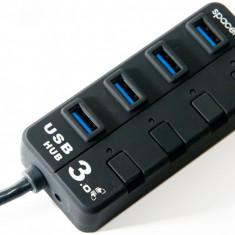 Spacer hub USB 3.0 extern SPH-304, 4 porturi