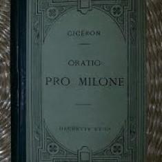 Pro T. Annio Milone  : oratio ad judices / M. Tulli Ciceronis Cicero