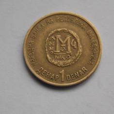 1 DENAR 2000 MACEDONIA-COMEMORATIV, Europa