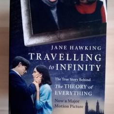 Jane Hawking - Travelling to Infinity - Carte in engleza