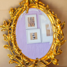 OGLINDA ART-DECO GOLD - Oglinda living