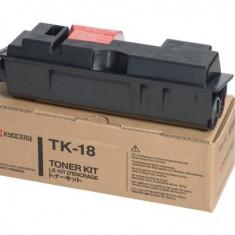 Kyocera Toner Kyocera TK-18, Negru, 7200 pagini