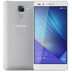 Huawei Honor 7, 5.2 inch, 16 GB, 4G, Android 5.0, dual sim, argintiu - RESIGILAT - Telefon Huawei