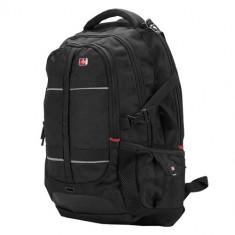 SUMDEX Continent BP-302, rucsac laptop, 16 inch, negru - Geanta laptop Sumdex, Nailon