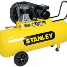 Stanley compresor de aer B350/10/100 cu 2 cilindri, 10 Bar, 100 l - Compresor electric