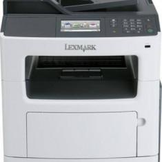 Imprimanta laser Lexmark MX410DE, 4IN1, MONOLASER, USB/ETH, A4, Duplex, USB 2.0, alb-gri - Imprimanta laser alb negru