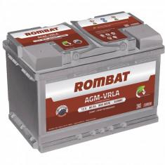 Rombat AGM VRLA 12 V - 80 Ah, 800 A, start/ stop - Baterie auto