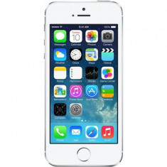 Telefon Apple Second hand IPhone 5s 16GB Free Sim Silver, Argintiu