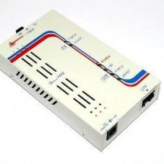 Media convertor CTC Union ( FIB-10/100/POF ) FE la POF (plastic optical fiber)
