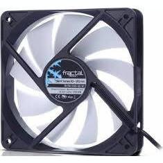 Fractal Design VEFDFANSSR3120WT, Silent Series R3, 120mm, (FD-FAN-SSR3-120-WT) - Cooler PC