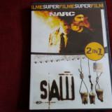 FILM DVD SAW III/ NARC 2 FILME - Film thriller, Romana