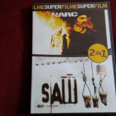 FILM DVD  SAW III/ NARC 2 FILME, Romana