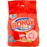 BONUX Detergent automat 3in1 Rose 2kg