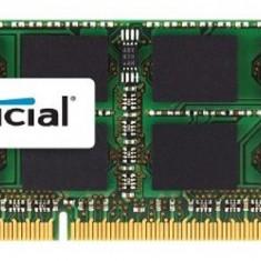 Crucial CT51264BF160B, SODIMM, 4 GB DDR3, 1600 MHz, CL 11, 1.35 V - Memorie RAM laptop