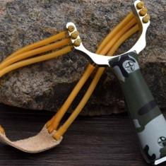 Prastie vanatoare / pescuit + elastic rezerva