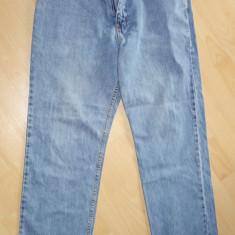 Blugi pantaloni Lee 34-34 ( 86 cm talie ) - Blugi barbati, Culoare: Albastru, Lungi