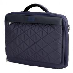 SUMDEX Passage PON-321, Geanta laptop, 15.6 inch, albastra, Nailon, Albastru