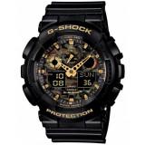 Ceas barbatesc Casio G-Shock GA-100CF-1A9ER, Sport