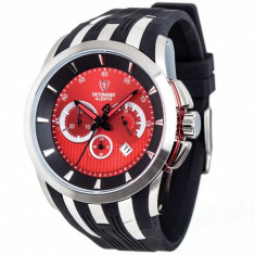 Ceas barbatesc Detomaso Alento Red/Black, Casual