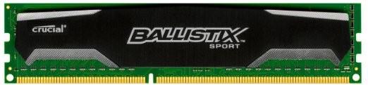 Memorie Crucial Ballistix Sport, DDR3, 4 GB, 1600MHz, C9 foto mare