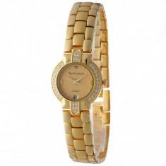 Ceas original Yves Camani Carat 23 Diadem Gold - Ceas dama Yves Camani, Elegant, Quartz