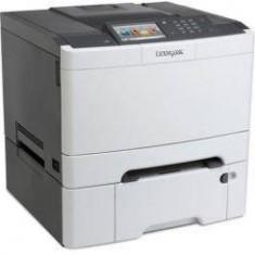 Imprimanta laser Lexmark CS510DTE, COLORLASER, A4, 30 PPM, Duplex, USB 2.0, alb-gri