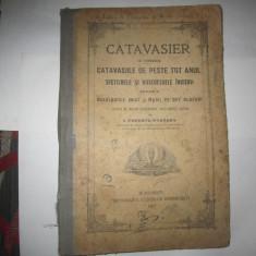 Catavasier anul 1927 cu semnatura preot paroh mateescu c10 - Carti bisericesti