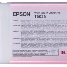 Epson Toner inkjet Epson T6026 Vivid Light Magenta, 110ml