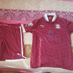 Echipamente fotbal FC Rapid - Set echipament fotbal Puma, Marime: Marime universala