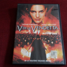 FILM DVD V DE LA VENDETTA - Film SF, Romana
