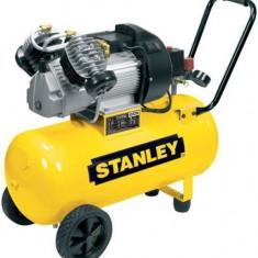 Stanley compresor de aer DV2/400/10/50 cu 2 cilindri, 10 Bar, 50 l - Compresor electric