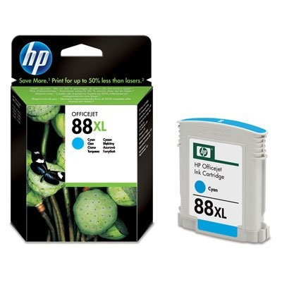 HP Toner HP 88XL ( C9391AE ) - 1700 pag, Vivera Ink, Cyan foto