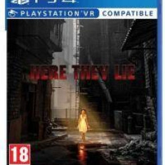Sony Joc VR PS4 Here They Lie