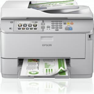 Multifunctionala Epson WorkForce Pro WF-5690DWF, inkjet color A4, Duplex, WiFi, Fax foto mare