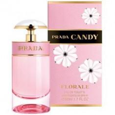 Prada Candy Florale Eau de Toilette 50ml - Parfum femeie Prada, Apa de toaleta