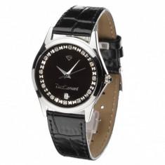 Ceas original Yves Camani Twinkle Silver/Black - Ceas dama Yves Camani, Casual, Quartz