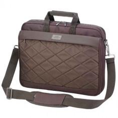SUMDEX Passage PON-327, Geanta laptop, 15.6 inch, maro, Nailon