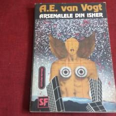 A E VAN VOGT - ARSENALELE DIN ISHER - Carte SF
