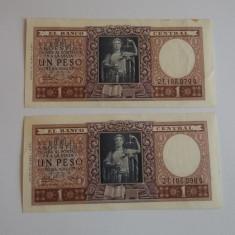 Bancnota 1 peso Argentina 1952- necirculata - bancnota america