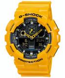 Ceas barbatesc Casio G-Shock GA-100A-9AER, Sport