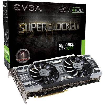 Placa video EVGA EVGA GeForce GTX 1080 SC GAMING ACX 3.0, 8GB GDDR5X (256 Bit), HDMI, DVI, 3xDP foto