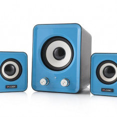 Logic LS-20 albastru [ 2.1 stereo ] - Boxe PC