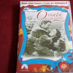 FILM DVD O VIATA MINUNATA - Film Colectie, Romana
