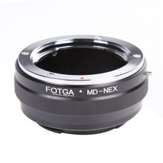 Adaptor FOTGA Obiective Minolta MD pentru Sony E seria NEX 3 7, A6000 A7 A7R II - Inel adaptor obiectiv foto