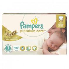 PAMPERS Scutece Premium Care 1 New Baby Jumbo Pack, 108 bucati - Scutece unica folosinta copii