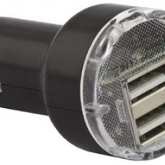 ESPERANZA Incarcator auto - 2 x USB |iPhone| DC 12/24V | 5V | 2100mA - Incarcator telefon iPhone