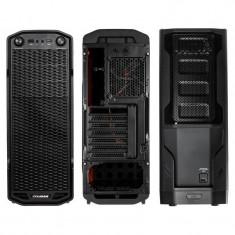 Carcasa Cougar MX310, Middle Tower, neagra, fara sursa - Carcasa PC